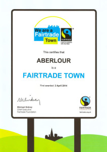 Fairtrade Town certificate 2